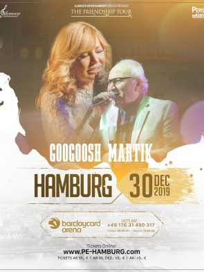 Googoosh-Martik-Hamburg-30.12.2019, Tizo Ticketing, Online Ticket, Persian Event Germany, Persian Event Frankfurt, Persian Event Berlin, Persian Event Hamburg, Persian Event Düsseldorf, Persian Event Köln, Persian Party Germany, Persian Party Frankfurt, Persian Party Berlin, Persian Party Hamburg, Persian Party Düsseldorf, Persian Party Köln, Persian Concert Germany, Persian Concert Frankfurt, Persian Concert Berlin, Persian Concert Hamburg, Persian Concert Düsseldorf, Persian Concert Köln, Persisches Konzert Germany, Persisches Konzert Frankfurt, Persisches Konzert Berlin, Persisches Konzert Hamburg, Persisches Konzert Düsseldorf, Persisches Konzert Köln