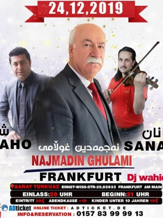 Najmadin-Ghulami-Frankfurt-24.12.2019, Tizo Ticketing, Online Ticket, Persian Event Germany, Persian Event Frankfurt, Persian Event Berlin, Persian Event Hamburg, Persian Event Düsseldorf, Persian Event Köln, Persian Party Germany, Persian Party Frankfurt, Persian Party Berlin, Persian Party Hamburg, Persian Party Düsseldorf, Persian Party Köln, Persian Concert Germany, Persian Concert Frankfurt, Persian Concert Berlin, Persian Concert Hamburg, Persian Concert Düsseldorf, Persian Concert Köln, Persisches Konzert Germany, Persisches Konzert Frankfurt, Persisches Konzert Berlin, Persisches Konzert Hamburg, Persisches Konzert Düsseldorf, Persisches Konzert Köln